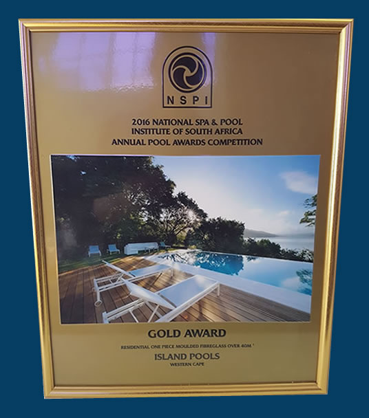 gold pool and spa 2016 new